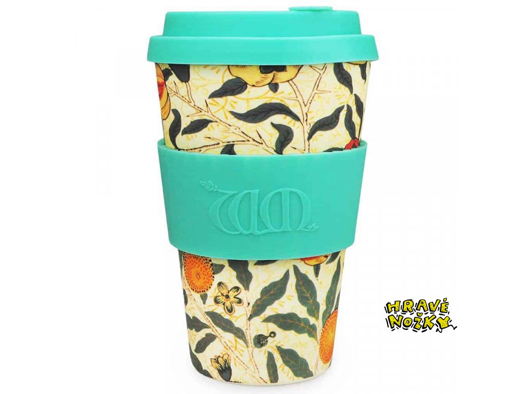 22Pomme22 William Morris bambusový pohár 400ml