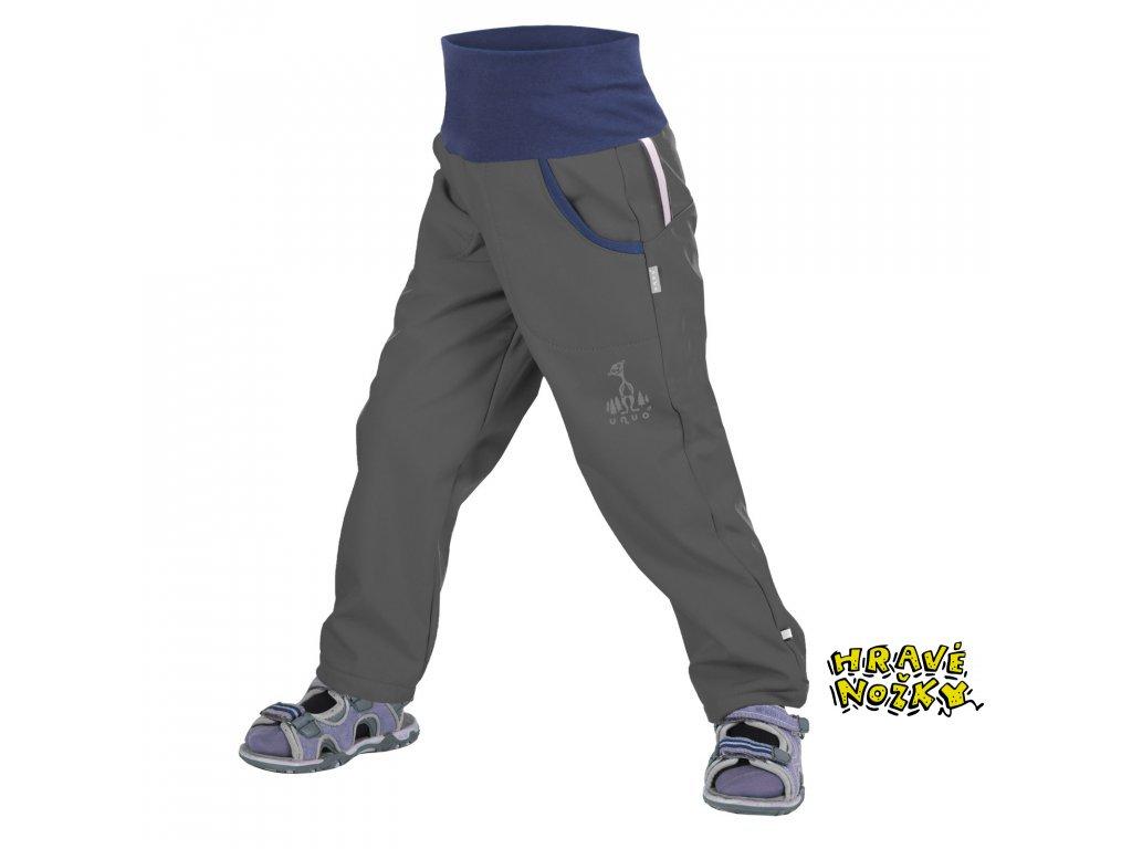 10595 10 kalhoty predskolak antracit