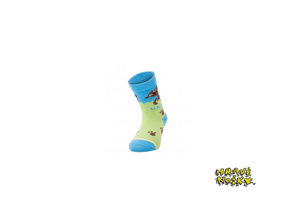 8214 unuo detske bambusove ponozky evzen