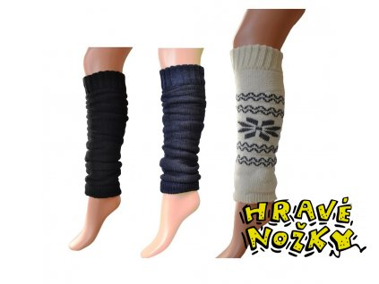 Návlek na nohy Knebl Hosiery - černá